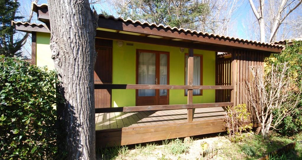 Chalet les jardins de tivoli camping caravaning le for Camping le jardin de tivoli
