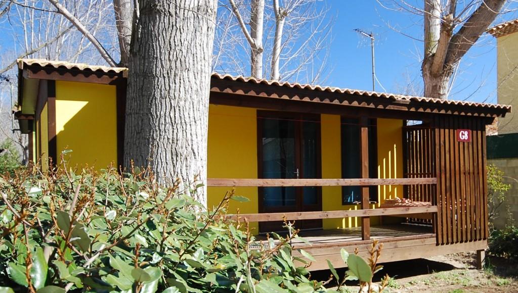 Chalet Les Jardins De Tivoli Camping Caravaning Le