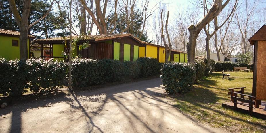Chalet les jardins de tivoli camping caravaning le grau du roi port camargue gard - Les jardins d arcadie le grau du roi ...